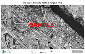 0.5 Section Aerial Photo Sample (b w)