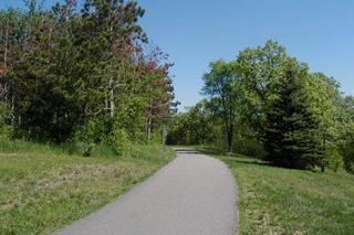 image of a paved trail
