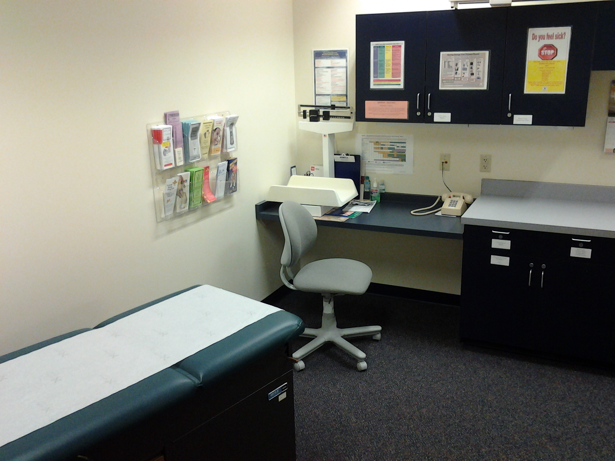 Well Child Exam Room